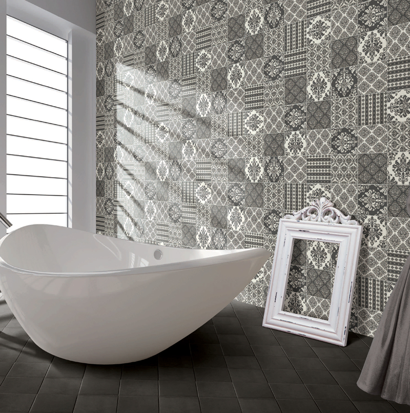 Beautiful Would You Add Encaustic Tiles To Your Bathroom