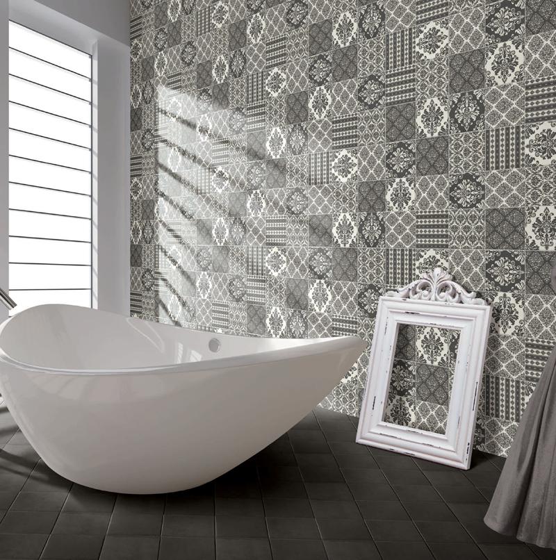 Cool Encaustic Tile On Pinterest  Tiled Bathrooms Bathroom Floor Tiles