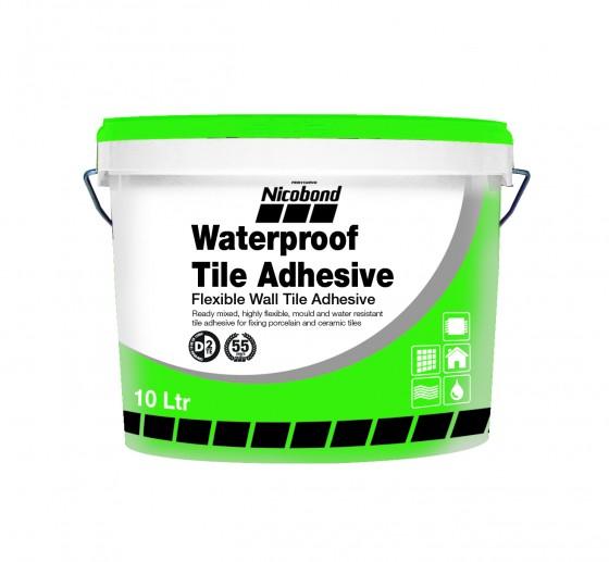 Bathroom Tile Adhesive And Grout: Nicobond Waterproof Tile Adhesive