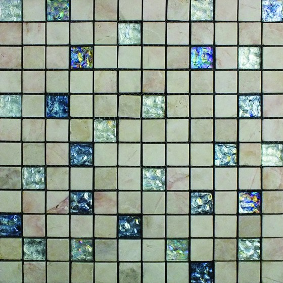 Image result for Aegean Mosaic Silver Sapphire Stone/Glass Sheet