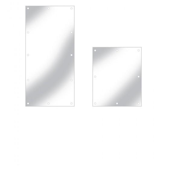 Acrylic Mirror Wall Mounted Screw Fix 5mm Depth 1000