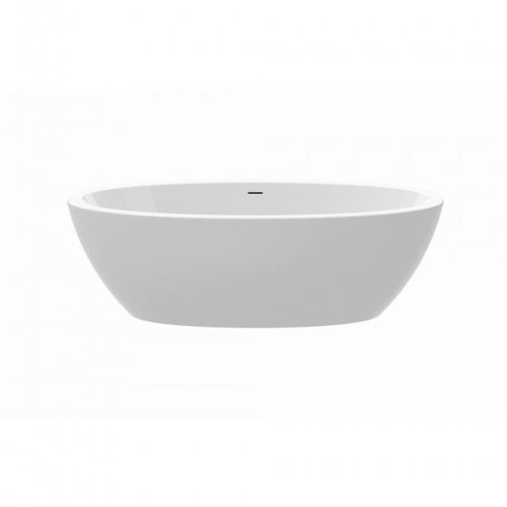 Loom Lucite Free Standing Bath, No Tap Ho le, Floorfix System,1900x950x600