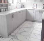 marble bevels and statuario kitchen transformation 6
